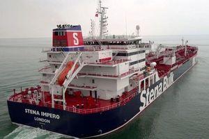 Iran chuẩn bị thả tàu chở dầu Stena Impero treo cờ Anh