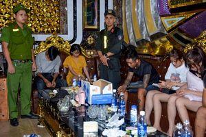 32 thanh niên sử dụng ma túy trong quán karaoke Paradise