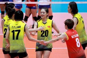 Tuyển nữ Việt Nam xếp cuối tại giải bóng chuyền ASEAN Grand Prix