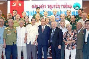 Thủ tướng Nguyễn Xuân Phúc dự gặp mặt truyền thống 70 năm Thiếu sinh quân Việt Nam