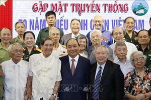 Thủ tướng Nguyễn Xuân Phúc dự gặp mặt Kỷ niệm 70 năm thành lập Trường Thiếu sinh quân Việt Nam