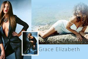 Mê mẩn ngắm vóc dáng tuyệt mỹ của 'thiên thần nội y' Grace Elizabeth