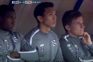 Văn Hậu dự bị, SC Heerenveen hòa thất vọng trước Utrecht