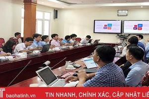 Viettel Hà Tĩnh giới thiệu hệ thống thông tin phục vụ họp và xử lý công việc