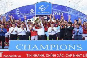 Hồng Lĩnh Hà Tĩnh đăng quang chức vô địch Giải hạng nhất quốc gia 2019