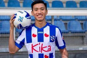 Vừa đến Hà Lan, Đoàn Văn Hậu được đăng ký thi đấu trận SC Heerenveen gặp Utrecht