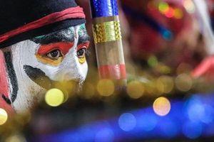 Những khoảnh khắc ấn tượng nhất màn múa xòe xác lập kỷ lục thế giới tại Yên Bái