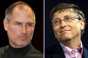 Điều bất ngờ khiến tỷ phú Bill Gates phải ghen tị với Steve Jobs