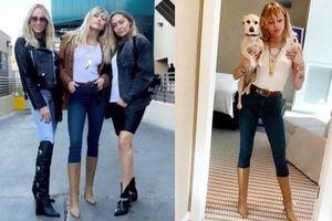 Hậu chia tay bạn gái, Miley Cyrus gây sốt khi đăng ảnh khoe body 'tỷ lệ vàng' và đôi chân dài như mơ