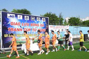 Giải bóng đá từ thiện 'hướng về miền Trung'