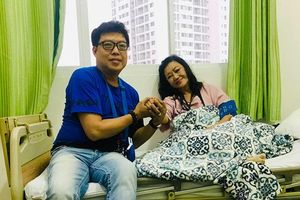 Nhập viện cấp cứu vì nhồi máu cơ tim, sức khỏe NSND Kim Cương giờ ra sao?