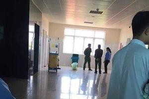 Phát hiện trẻ sơ sinh tử vong trong thùng rác Trung tâm y tế