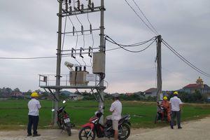 Hà Tĩnh: Nổ bốt điện, UBND thị trấn gần như tê liệt