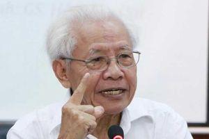 Trung tâm của GS Hồ Ngọc Đại kiến nghị lên Thủ tướng vì sách bị loại