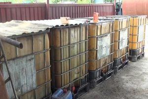 Quảng Ngãi: Bắt giam 2 giám đốc sản xuất, tiêu thụ xăng dầu giả