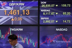 Chứng khoán châu Á phần lớn giảm điểm do lo ngại bất ổn chính trị