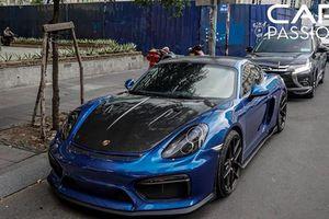 Chi tiết Porsche Cayman tiền tỷ độ độc tại Sài Gòn