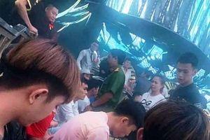 Cảnh sát đột kích quán bar lúc rạng sáng, phát hiện gần 150 dân chơi 'phê' ma túy