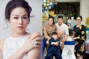 Nhật Kim Anh đăng ảnh thân mật bên chồng cũ trong tiệc sinh nhật con trai