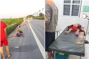 Hà Nội: Cả gia đình bị tai nạn, ba người tử vong