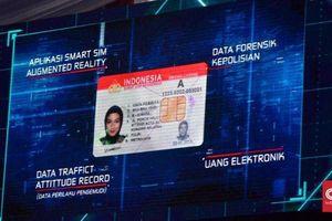 Bằng lái xe thông minh vừa được triển khai tại Indonesia có gì đặc biệt?