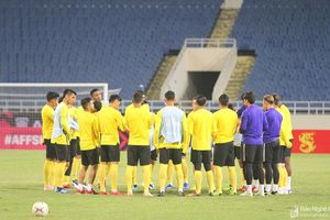 Đội tuyển Malaysia gọi 25 cầu thủ chuẩn bị đối đầu Việt Nam