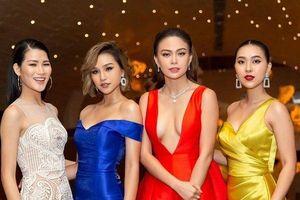 Người đẹp Lê Thu Trang lần đầu nói về sự cố 'dẫm váy' Á hậu Mâu Thủy tại Hoa hậu Hoàn vũ Việt Nam 2017