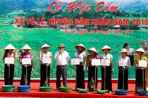 Lễ hội cốm Tú Lệ: Giữ gìn và phát huy giá trị làng nghề truyền thống