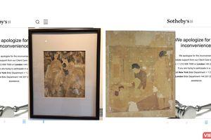 Nhà đấu giá Sotheby's Hong Kong hạ hai bức tranh lùm xùm
