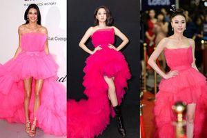 Ninh Dương Lan Ngọc, Bảo Anh đối đầu 'không khoan nhượng' Kendall Jenner vì chiếc đầm hồng búp bê
