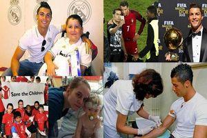 18 câu chuyện tuyệt vời khiến bạn phải thay đổi suy nghĩ về Cristiano Ronaldo