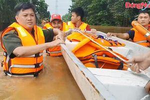 Trảng Bom thống kê thiệt hại của 2 xã bị ngập nước