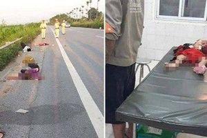 Cả nhà bị TNGT ở Sóc Sơn: Bố uống rượu tự gây tai nạn, mẹ và 2 con tử vong