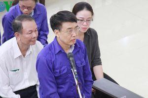 Cựu Thứ trưởng Lê Bạch Hồng nói lời sau cùng 'mong HĐXX xem xét'