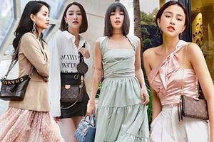 Mỹ nhân Việt đồng loạt khoe 'bảo bối' mới tậu trong loạt street style tuần qua