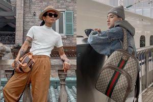BB Trần dùng túi Louis Vuitton 73 triệu đồng không thua kém Sơn Tùng