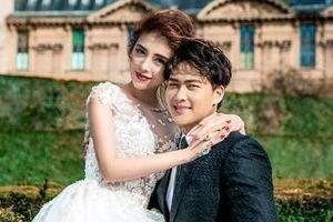 Claret Giang Lê tung ảnh cưới với hot boy cảnh sát