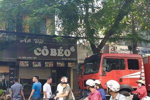 Hải Phòng: Cháy quán ăn trên phố Lương Khánh Thiện