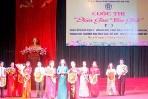 Sôi nổi hội thi 'Hòa giải viên giỏi' cụm 2 TP Hà Nội