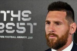 Vượt qua Ronaldo và Van Dijk, Messi giành giải 'FIFA The Best 2019'