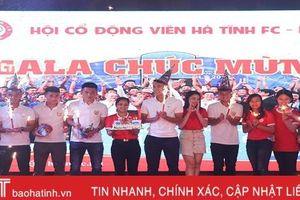 Gala mừng Hồng Lĩnh Hà Tĩnh vô địch Giải hạng Nhất quốc gia LS 2019