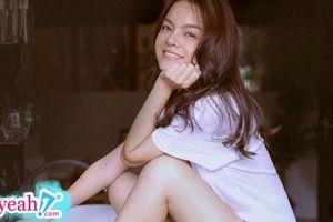 Phạm Quỳnh Anh tung bộ ảnh thanh xuân cực đẹp, lại còn công khai 'thả thính' thế này thì fan biết làm sao