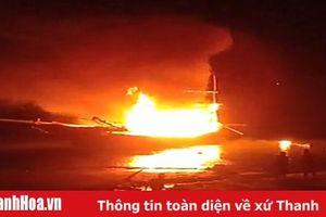 Vụ cháy tàu cá tại xã Hải Châu (Tĩnh Gia): 2 người tử vong, 5 người bị thương, 1 người mất tích
