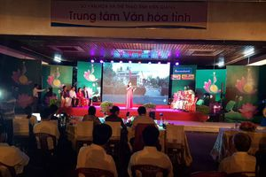 Mang cung điệu tài tử đến với lễ hội Nguyễn Trung Trực tại Kiên Giang