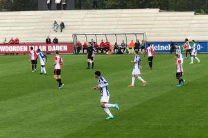 Văn Hậu đá thế nào trong trận đầu tiên tại SC Heerenveen?