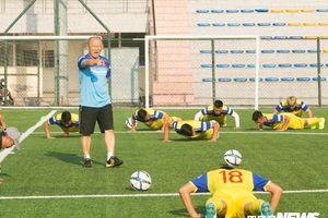 Đức Chinh, Trọng Đại vất vả hồi phục, HLV Park Hang Seo 'nắn' học trò kỹ càng