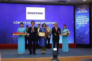 Vicostone được vinh danh Top 10 doanh nghiệp quản trị tốt nhất Việt Nam