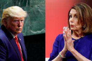 Chủ tịch Hạ viện Mỹ: Sẽ chính thức điều tra luận tội ông Trump