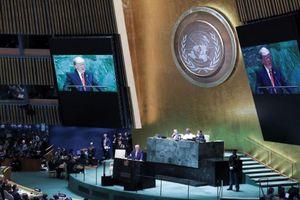 Ông Trump phát biểu Đại hội đồng LHQ: Không bao che Iran!