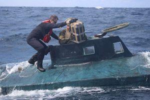 Phát hiện tàu ngầm ở Thái Bình Dương chứa hơn 5 tấn cocaine